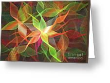 Linen  Greeting Card
