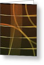 Lines And Shadows Greeting Card