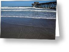 Lines In The Sand Greeting Card