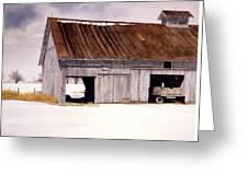 Lin's Barn Greeting Card
