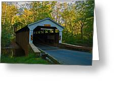 Linton Stevens Covered Bridge Greeting Card