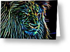 Lion - 1 Greeting Card