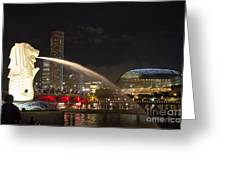 Lion City Greeting Card