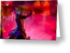 Lion King Dancers Greeting Card