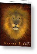 Sacred Fire Greeting Card
