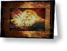 Lion Tapestry - Soulmates Greeting Card