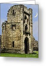 Lion Tower Greeting Card