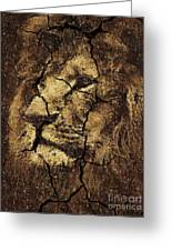 Lion -wall Art Greeting Card