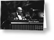 Lionel Hampton Greeting Card
