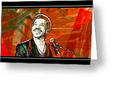 Lionel In Red Greeting Card