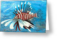 Lionfish IIi Greeting Card