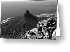 Lions Head - Cape Town - South Africa Greeting Card