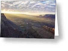 Lipon Point Sunset - Grand Canyon National Park - Arizona Greeting Card