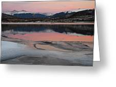 Lipstick Sunset Greeting Card by Bob Berwyn