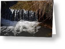 Liquid Bubbles Greeting Card