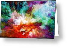 Liquid Colors - Original Greeting Card