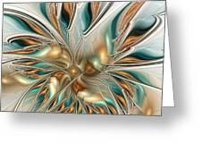 Liquid Flame Greeting Card