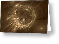 Liquid Gold Greeting Card