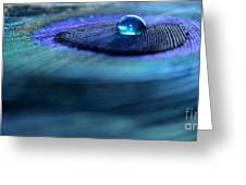 Liquid Saphire Greeting Card