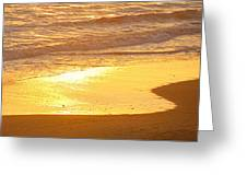Liquid Sun Greeting Card