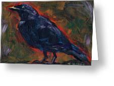 Lisa's Blackbird Greeting Card