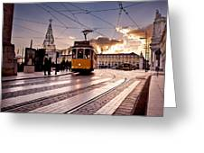 Lisbon Light Greeting Card