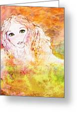 Listen To The Colour Of Your Dreams Greeting Card