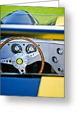 Lister Steering Wheel Greeting Card