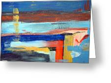 Little Abstract #1 Greeting Card
