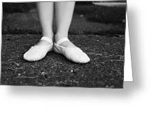 Little Ballerina Feet Greeting Card