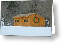 Little Barn Greeting Card