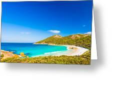 Little Beach Greeting Card