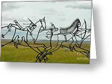 Little Bighorn Battlefield Greeting Card