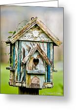 Little Birdhouse Greeting Card