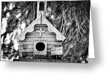 Little Birdie Church Greeting Card