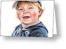 Little Boy Greeting Card
