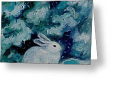 Little Bunny Foo Foo Greeting Card