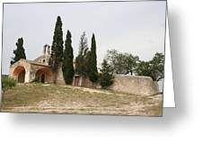 Little Chapel On A Hill Greeting Card
