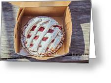 Little Cherry Pie Greeting Card