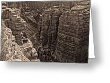 Little Colorado River Overlook Greeting Card