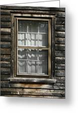 Little Cottage Window Greeting Card