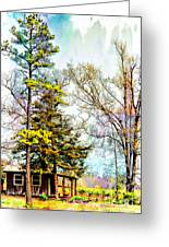Little Country Shed Greeting Card
