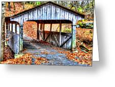 Little Covered Bridge II Greeting Card
