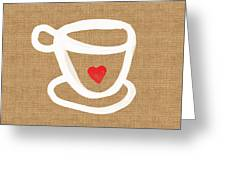 Little Cup Of Love Greeting Card