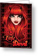 Little Devil Greeting Card