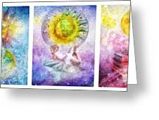Little Dream Triptic Greeting Card