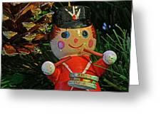Little Drummer Boy Ornament Greeting Card