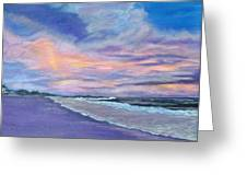 Little Gasparilla Island Sunset Greeting Card