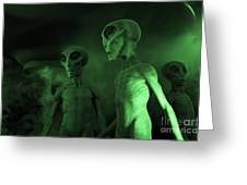 Aliens And Ufo 6 Greeting Card