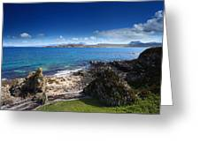 Little Gruinard Bay In The Scottish Highlands Greeting Card